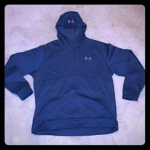 Under Armour Navy Hooded Sweatshirt